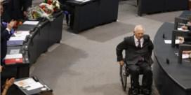 Schäuble begint in mineur