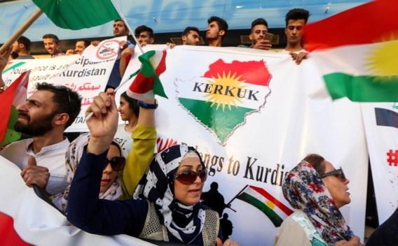 Iraakse Koerden 'bevriezen' resultaten referendum