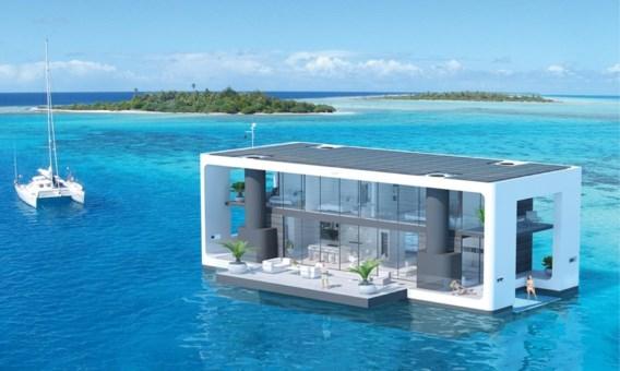 Nederlandse architect ontwerpt drijvende villa