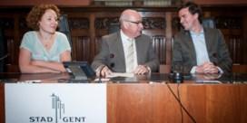 Paarse pioniers in Gent op ramkoers