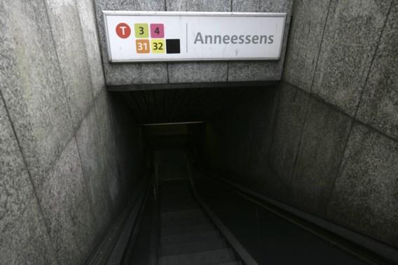Protest tegen metrostation Toots Thielemans