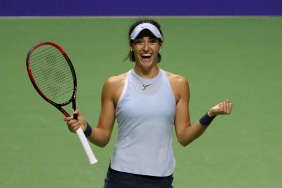 Caroline Garcia blijft in de running voor halve finales WTA Masters