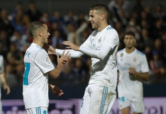 Real Madrid heeft twee strafschoppen nodig tegen derdeklasser