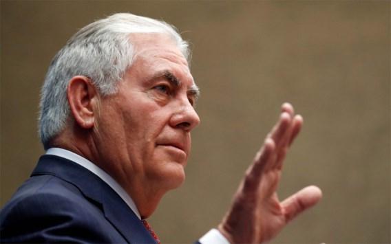 Tillerson: 'Geen rol voor president Assad in toekomst van Syrië'
