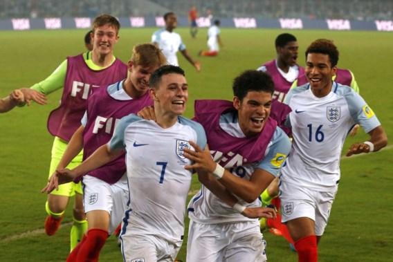 Engeland kroont zich tot wereldkampioen bij U17