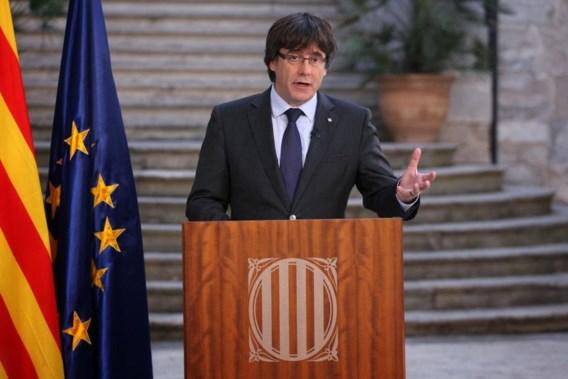 Afgezette Catalaanse minister-president roept op tot vreedzaam verzet