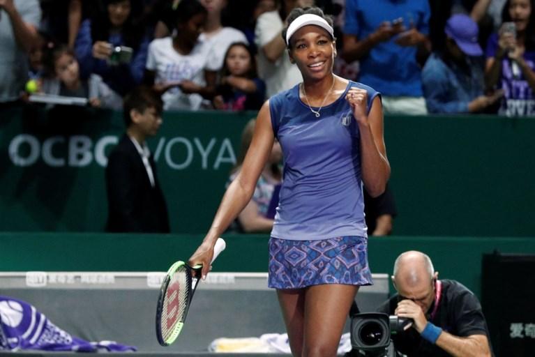 Wozniacki moet voorbij Venus Williams in finale van WTA Masters