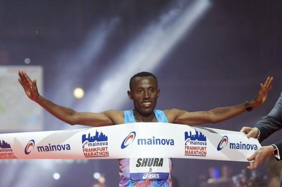 Shure Kitata Tola wint marathon van Frankfurt