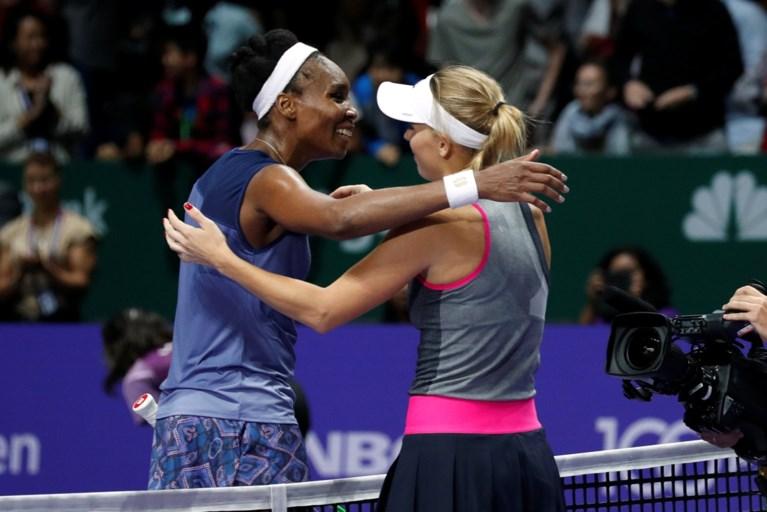 Caroline Wozniacki vloert Venus Williams en wint voor het eerst in haar carrière de Masters