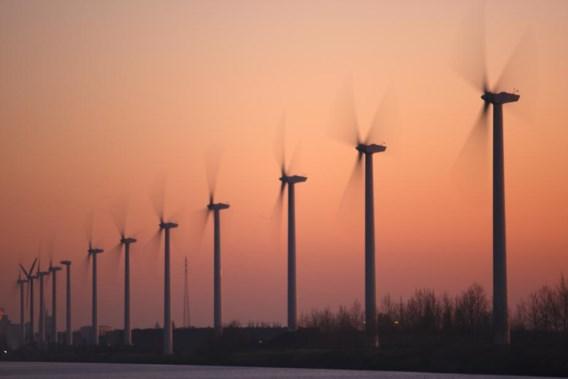 Zware herfststorm breekt Europees record windenergie