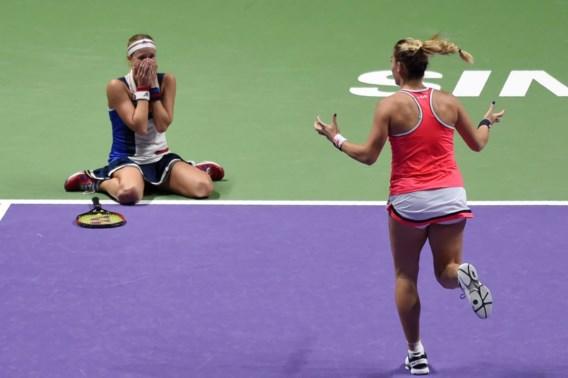 Babos en Hlavackova pakken de dubbeltitel op WTA Masters