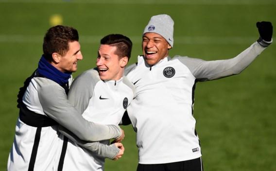 Topspits Mbappé op de bank tegen Anderlecht