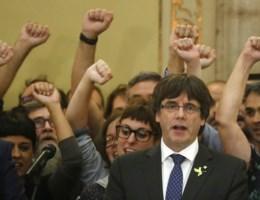 Catalaanse leiders aangeklaagd door Spaanse overheid voor rebellie