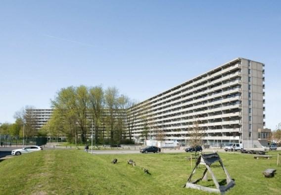 Gered flatgebouw valt opnieuw in de prijzen