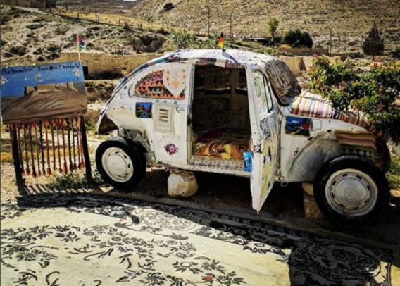 'Kleinste hotel ter wereld' ondergebracht in Volkswagen Kever