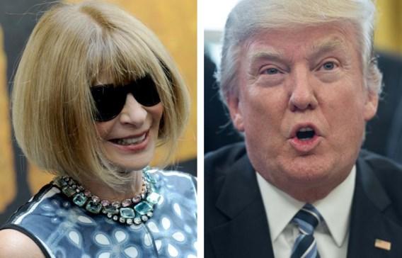 Donald Trump krijgt geen uitnodiging meer van Anna Wintour