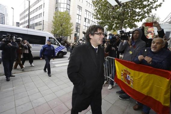 Puigdemont donderdag niet naar Spaanse rechter