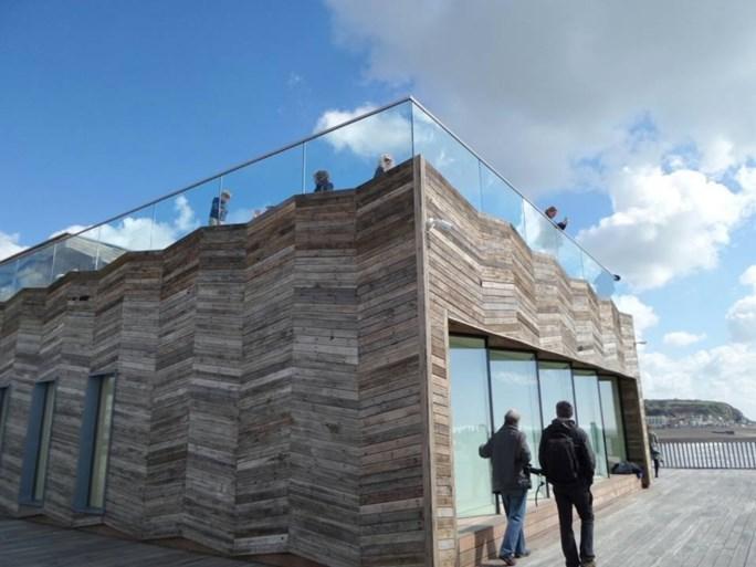 Nieuwe pier van Hastings valt in de prijzen