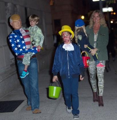 ONGEHOORD. 'Ik geef de helft van haar snoep aan een kind dat met Halloween thuis bleef. Zo leert ze wat socialisme is'