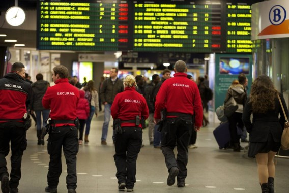 'We laten Securail al vaker patrouilleren op Walibi-trein'