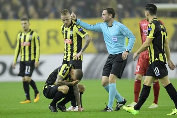 Vitesse-aanvaller houdt hersenschudding over aan Europa League-duel met Zulte Waregem