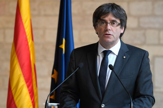 Puigdemont: 'Rajoy doet nooit aan politiek'
