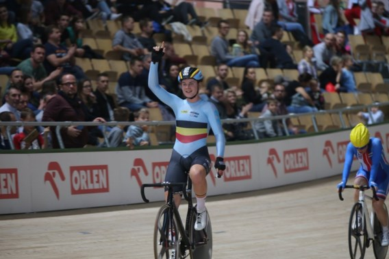 Meteen Belgisch goud op Track World Cup in Polen: Lotte Kopecky wint puntenkoers