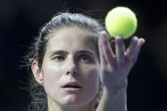 Julia Goerges is laatste halvefinaliste op WTA Elite Trophy in China