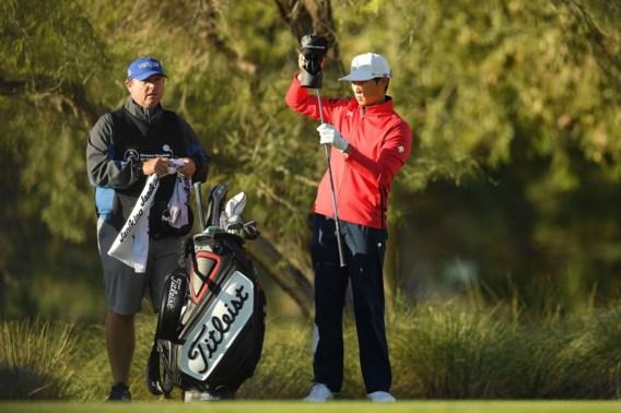 Zuid-Koreaan Whee Kim is de eerste leider op Shriners Hospitals for Children Open golf in Las Vegas