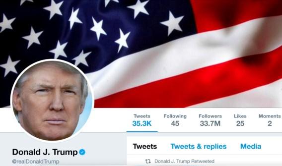 Twitter-account president Trump 'per ongeluk gedeactiveerd' door helpdeskmedewerker