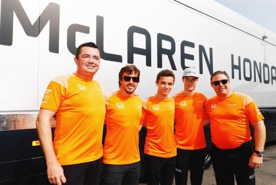 Amper 17-jarige Brit wordt test- en reserverijder bij het McLaren van Stoffel Vandoorne