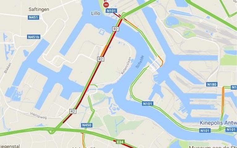Zware avondspits rond Antwerpen door ongeval en defecte vrachtwagen