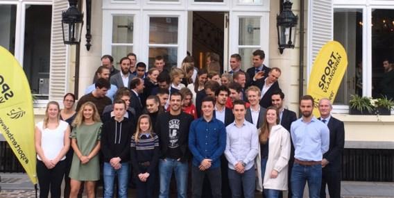 Philippe Muyters huldigt recordaantal Vlaamse atleten