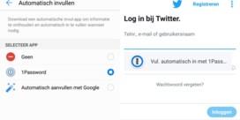 Nooit meer wachtwoorden kwijt met Android Oreo