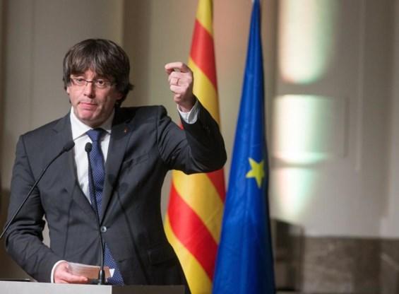 Puigdemont: 'Meneer Juncker, wat voor Europa wilt u?'