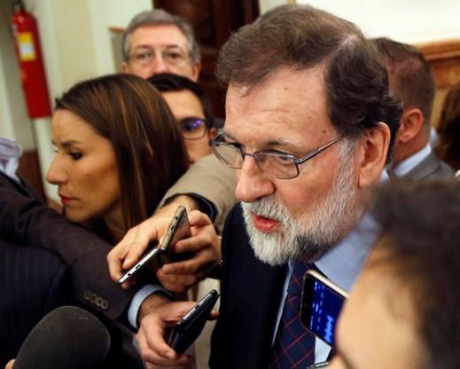 Rajoy: 'Premier Michel is mijn enige gesprekspartner in België'