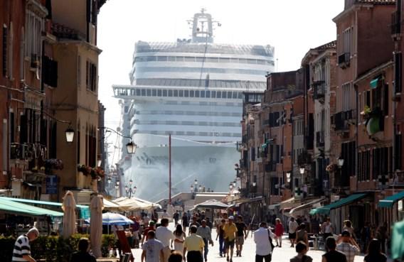 Cruiseschepen niet meer welkom in Venetië