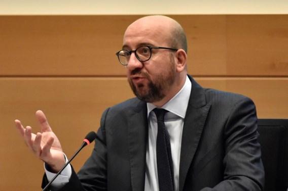 Michel: 'Er is een politieke crisis in Spanje, niet in België'