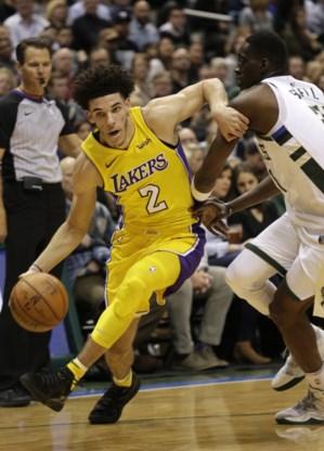 Golden State blijft imponeren in NBA, Lonzo Ball (Lakers) in geschiedenisboeken