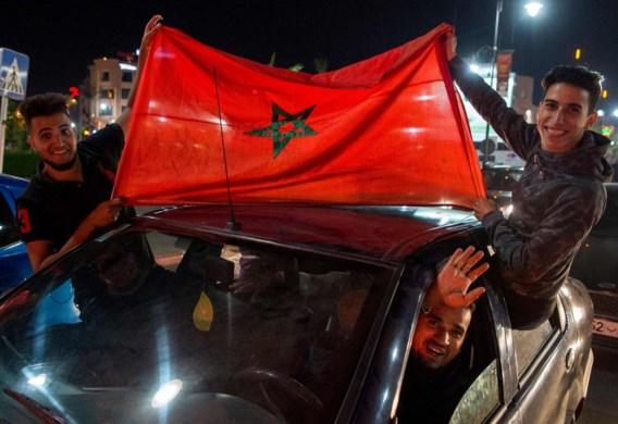 Twintig agenten gewond bij relletjes in Brussel na WK-kwalificatie Marokko