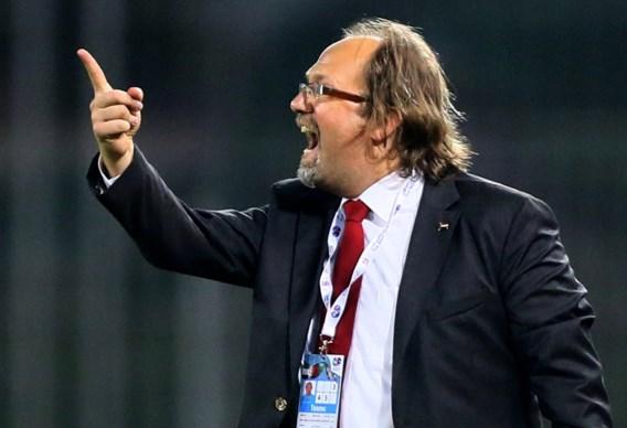 Belgische bondscoach Tom Saintfiet verliest met Malta met 0-3 van Estland