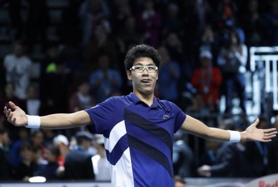 Eerste toernooizege voor Zuid-Koreaan Chung Hyeon