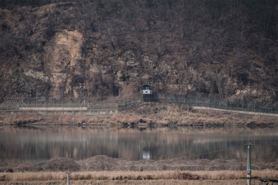 Noord-Koreaanse soldaat loopt over naar Zuid-Korea