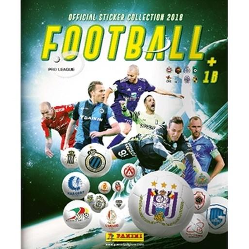 Panini-album Football Pro League 2018 ligt in de rekken