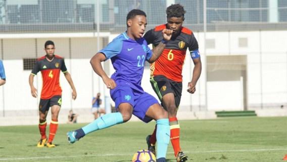 Belgische min 18-jarigen lijden 4-1 nederlaag tegen Nederland