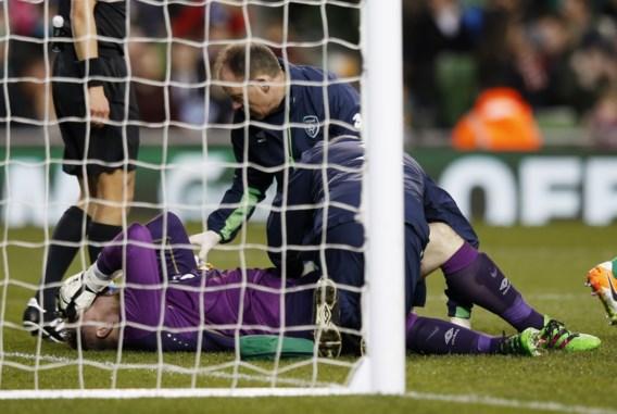 Barragewedstrijden WK - Ierland kan in beslissend duel tegen Denemarken niet rekenen op doelman Elliot