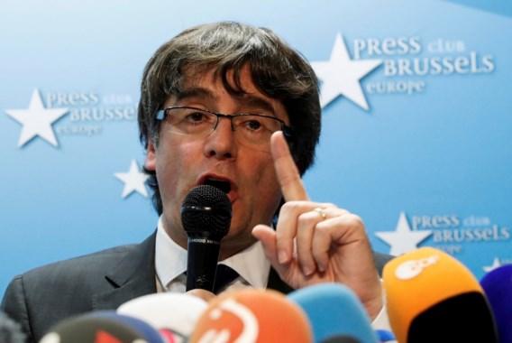 Puigdemont: 'Andere oplossing dan onafhankelijkheid is mogelijk'