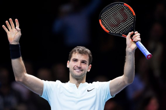 Dimitrov klopt Thiem in groep van Goffin op ATP World Tour Finals