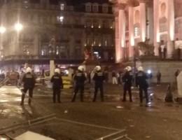Brusselse hulpdiensten dienen klacht in na rellen