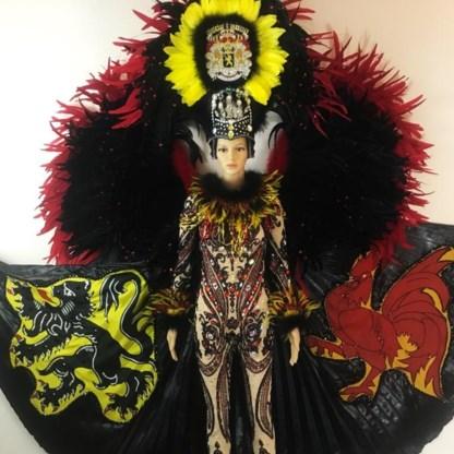 Met dit 'nationale kostuum' trekt België naar Miss Universe